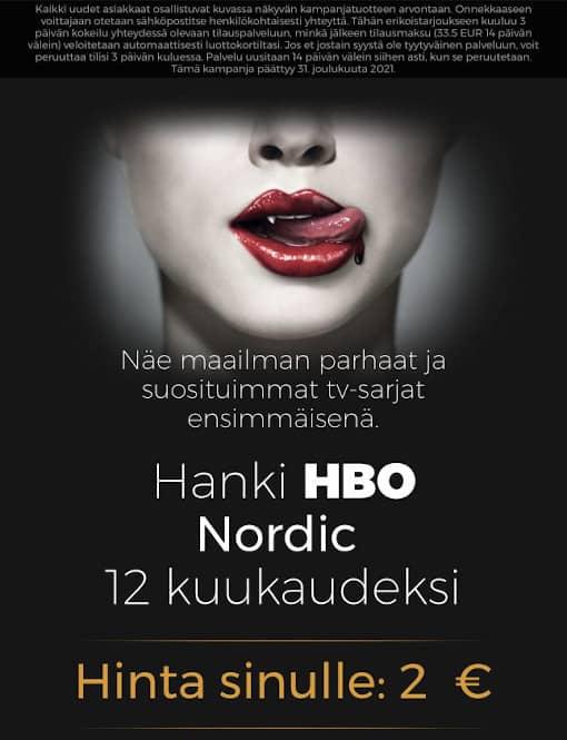 HBO Nordic huijaussivusto mobiili
